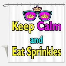 Crown Sunglasses Keep Calm And Eat Sprinkles Showe