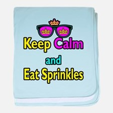 Crown Sunglasses Keep Calm And Eat Sprinkles baby