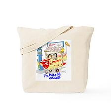 1/2 MILE-HI CLUB Tote Bag