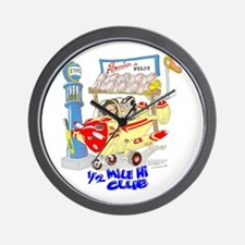 1/2 MILE-HI CLUB Wall Clock