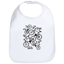 Bicycles Big and Small Bib