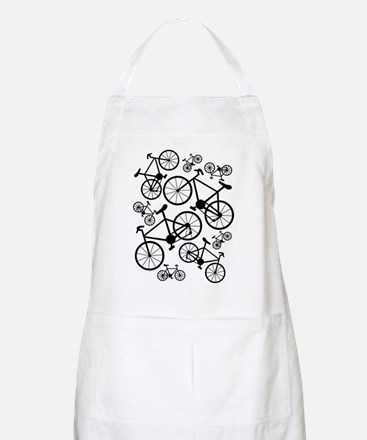 Bicycles Big and Small Apron