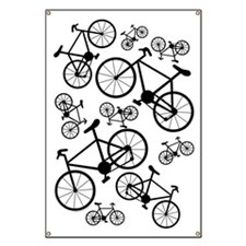 Bicycles Big and Small Banner