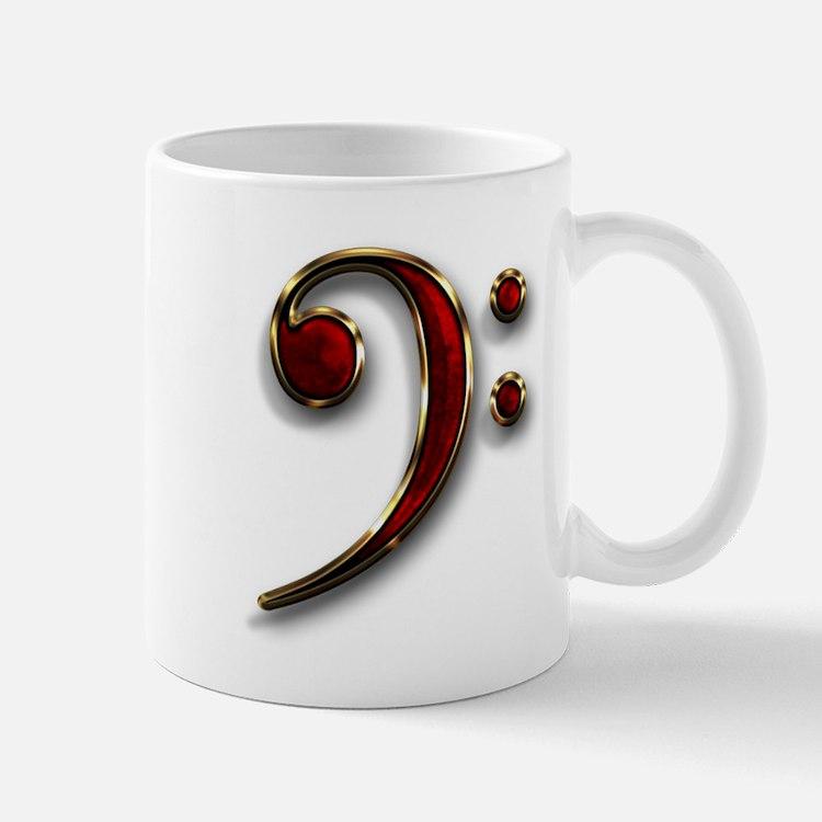 Bass Clef Coffee Mug
