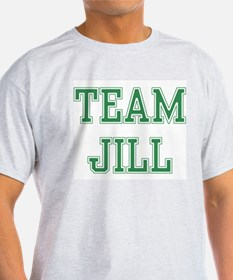 TEAM JILL  Ash Grey T-Shirt