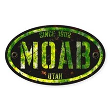 Moab Grunge Rivet Slime Decal