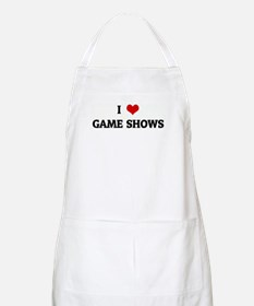 I Love GAME SHOWS BBQ Apron