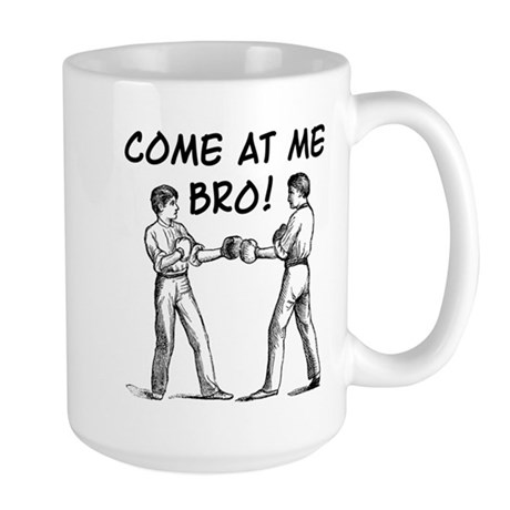 Vintage Retro Come At Me Bro Funny T-Shirt Mug