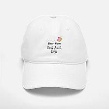 Personalized Best Aunt Baseball Baseball Cap