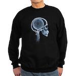 x-ray head soccer Sweatshirt