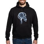 x-ray head soccer Hoodie