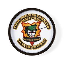 Army - SOF - MACV - SOG - Field Tng Cmd Wall Clock