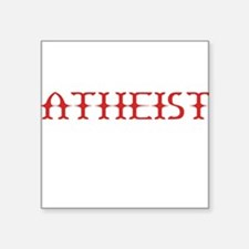 Atheist Sticker