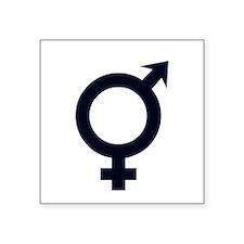 Male Female Symbols Sticker