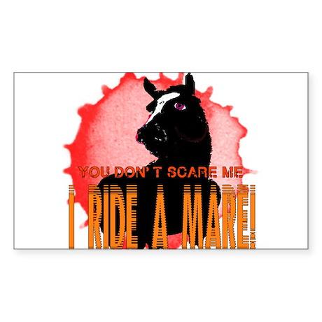 I Ride A Mare Sticker