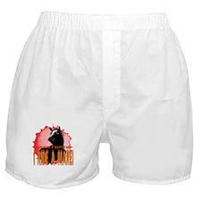 I Ride A Mare Boxer Shorts