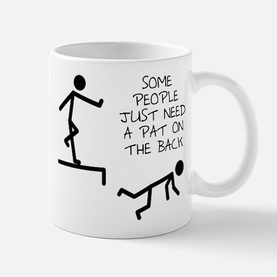 A Pat On The Back Funny T-Shirt Mug