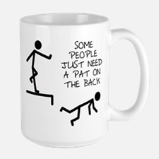 A Pat On The Back Funny T-Shirt Mug