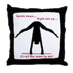 Gymnastics Throw Pillow UD