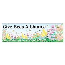 virginia pollinator Bumper Bumper Sticker