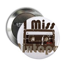 "Mix tape 2.25"" Button"