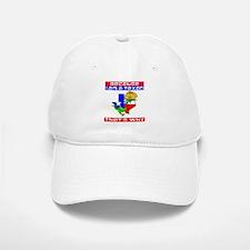 Because I'm A Texan Baseball Baseball Cap