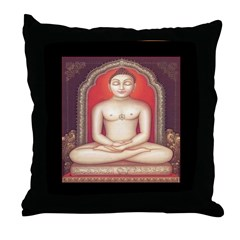 Mahaveera Throw Pillow