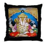 Ganesh Throw Pillow