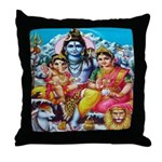 Tranquil Family Throw Pillow