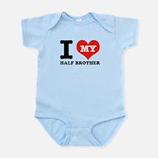I Love My Half Brother Infant Bodysuit