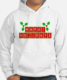 happy holidays letters.png Hoodie