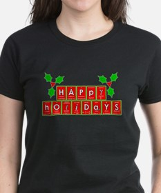 happy holidays letters.png T-Shirt