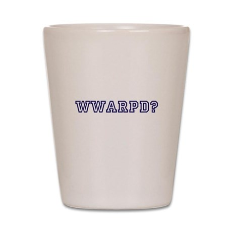 What would a reasonable person do? Shot Glass