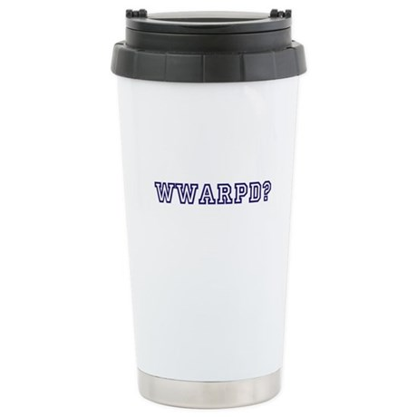 What would a reasonable person do? Travel Mug