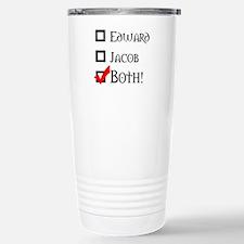 Edward, Jacob, BOTH! Travel Mug