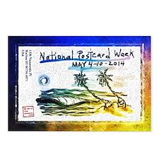 National Postcard Week Postcards (package Of 8)