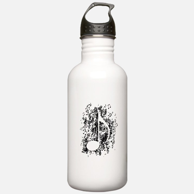 Note Explosion Water Bottle