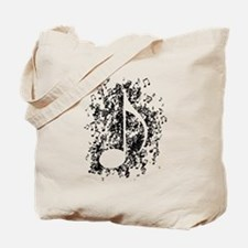 Note Explosion Tote Bag