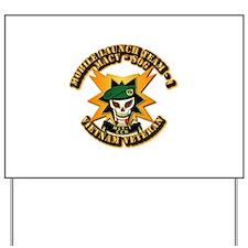 Army - SOF - MACV - SOG - MLT 1 Yard Sign