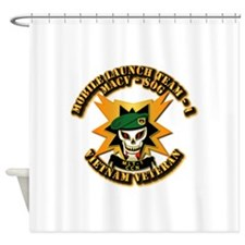 Army - SOF - MACV - SOG - MLT 1 Shower Curtain