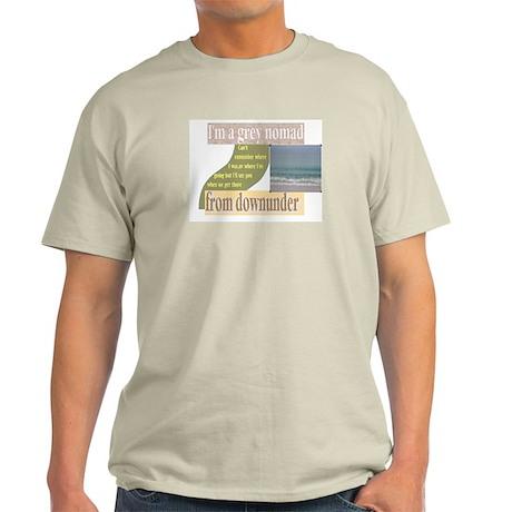 grey nomad funny Ash Grey T-Shirt