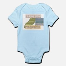 grey nomad funny Infant Bodysuit