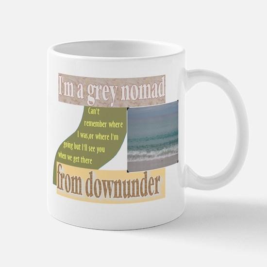 grey nomad funny Mug