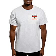 LEBANON Ash Grey T-Shirt
