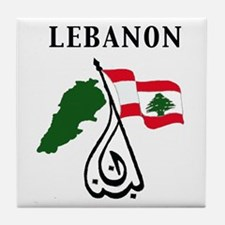 LEBANON Tile Coaster