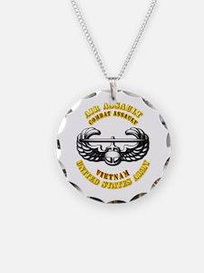 Emblem - Air Assault - Cbt Aslt - Vietnam Necklace