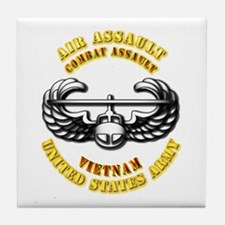 Emblem - Air Assault - Cbt Aslt - Vietnam Tile Coa