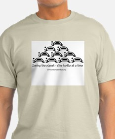SEA TURTLE ARRIBADA - MEN'S LIGHT T-SHIRT