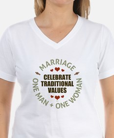 Celebrate Traditional Values T-Shirt
