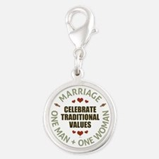 Celebrate Traditional Values Charms